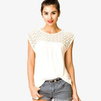 Crochet Yoke Top