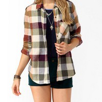 Colored Buffalo Plaid Shirt | FOREVER 21 - 2017306793