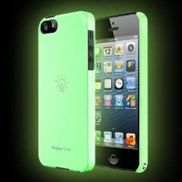 [Luminous] iPhone 5 Ringke SLIM Premium Hard Case [Glow in the Dark] [AT&amp;T, Verizon, Sprint, Unlocked]- Rearth Full Package