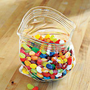 Unzipped, Zippered Plastic Bag Bowl, Baggie Candy Bowl, Glass Bowl | Solutions