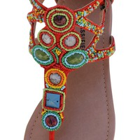  Suede Flats Sandals Mudra