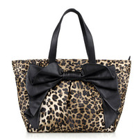 Elegant bow single shoulder bag