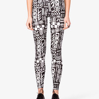 Tribal Print Leggings | FOREVER 21 - 2023197071