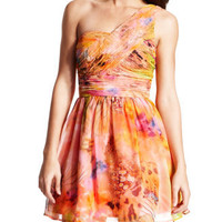 Charlotte Russe - Butterfly Catcher Party Dress