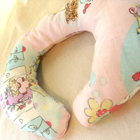 Travel Pillow Neck Roll Heat Therapy Baby Girl by earthluv on Etsy