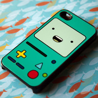 NEW BEEMO BMO Black iPhone 4 4s 5 Case Cover Adventure Time Finn Jake  Unicorn