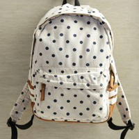 theresa polka dot backpack at ShopRuche.com
