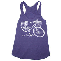Womens LA BICYCLETTE american apparel TriBlend by happyfamily