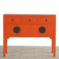 ColorStoryHome | Red Egg, Christopher Jagmin, Sivaana | tall sideboard - $3,370.00 : Color Story Home