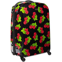 Betsey Johnson: Velvet Rose 28&quot; Upright Suitcase, at 58% off!