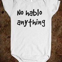 No Hablo Anything - Protego