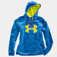Women's Armour Fleece Storm Big Logo Hoody | 1232476 | Under Armour US