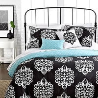 Sunset and Vines Dalton 5 Piece Comforter and Duvet Cover Sets - Duvet Covers - Bed &amp; Bath - Macy&#x27;s