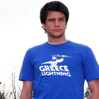 Greece Lightning T-Shirt | SnorgTees