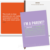 $15.99 &quot;I&#x27;m a Parent?&quot; Journal - Perpetual Kid