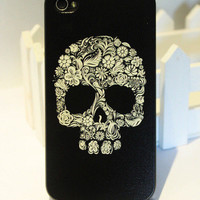 Cool Skull Hard Cover Case For Iphone 4/4s/5 from Cute Love