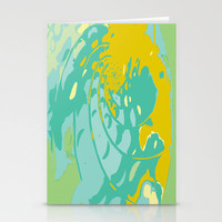 Sea Treasure Stationery Cards by Rosie Brown | Society6