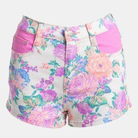MINKPINK 'Electric Field' High Waist Shorts | Nordstrom