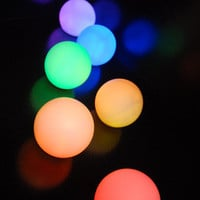 Small Glowing Orbs (3&quot;)    &amp;#36;2.99 each/ 6 for &amp;#36;2.49 each  (program to any color)