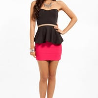Sweetheart Peplum Top $19