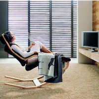 The Original Zero Gravity Recliner with Beech Wood Frame