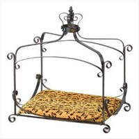 Royal Splendor Pet Metal Canopy Bed Small Dog Cat Puppy