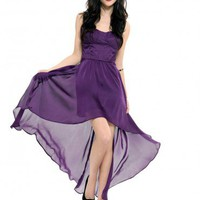 Katie Party Dress - Plum - Clothes | GYPSY WARRIOR