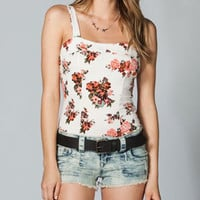 EYESHADOW Womens Corset Tank