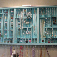 Printers Drawer Jewelry display by BlackForestCottage on Etsy