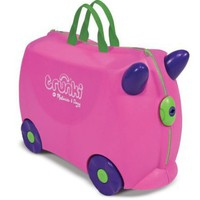Trunki by Melissa and Doug Wheeled Carry-On Kids Luggage - Trixie Pink