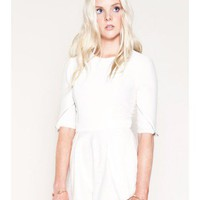 FINDERS KEEPERS I've Been Loving Playsuit WHITE