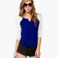 Relaxed Baseball Tee | FOREVER 21 - 2037137463