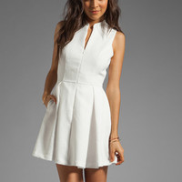 Dolce Vita Ashelle Snake Jacquard Dress in White from REVOLVEclothing.com