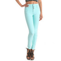 Refuge High Waisted Skinny Jean: Charlotte Russe