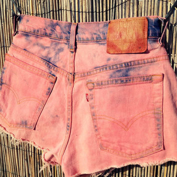 Vintage Denim High Waisted Shorts / by UnraveledClothing