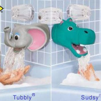 Tubbly Bubbly Bathtub Spout Safety Cover:Elephant