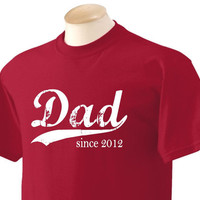 Vintage Dad any year Deep Red Mens Size Large by BRANDED