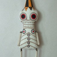 Bone Jangles Medium Day of the Dead by cartbeforethehorse on Etsy