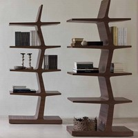 Porada | Zeus | Bookcase | Wooden | Living Room Furniture  Zeus : Ultra Modern