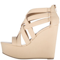 Payless, Women's Konstellation Strappy Wedge, Women's, Wedges