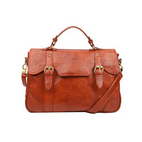 Vintage Style Postman Shoulder Bag