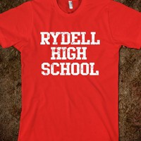 Rydell High School  t shirt - Yum Scum t shirts