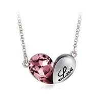 Cute Love Seed Necklace with SWAROVSKI ELEMENTS Design