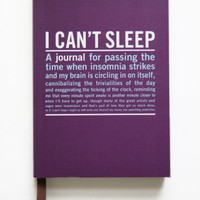 I Can&#x27;t Sleep Guided Journal
