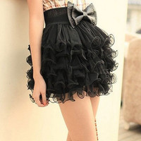 Romantic Ruffled Skirt