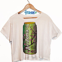 Arizona Ice Tea Crop Top | fresh-tops.com