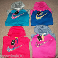 YOU PICK ! WOMEN&#x27;S THERMA FIT NIKE SWEATSHIRT HOODIE XS SMALL MEDIUM LARGE XL 