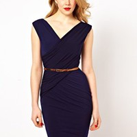 Coast Lana Jersey Dress with Belt at asos.com