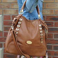 Rio Tan Slouch Shoulder Bag  from Bag Envy