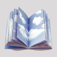 Cloud Book Notebook - $25
